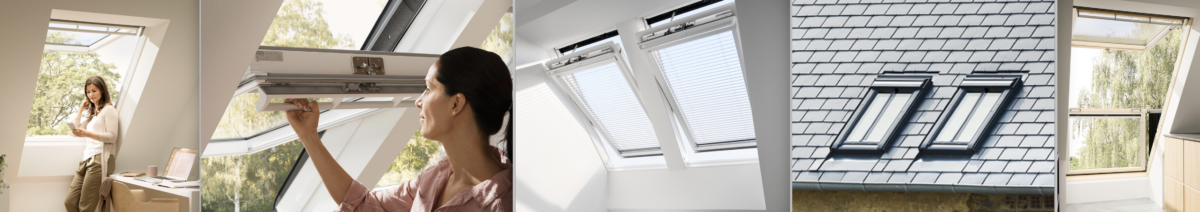 Velux roof windows GPU, GGU, Integra, Conservation and Cabrio