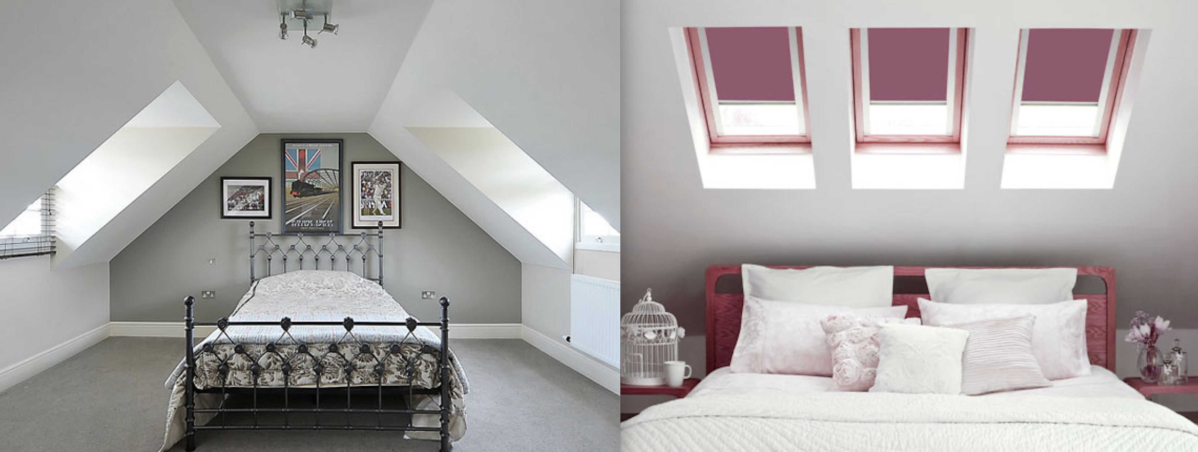 Dormer and Velux loft conversions in Harwood creating stunning and spacious master bedroom with private bathroom.