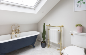 Loft Conversion Bathroom In Prestwich.