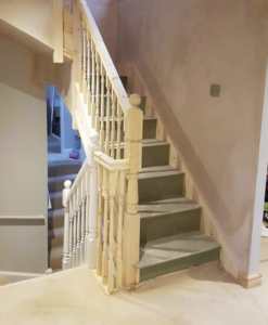 Loft Conversion staircase in Stretford, Manchester
