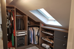 Stretford loft conversion with stunning walk in wardrobe