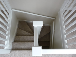 Double wind Loft Conversion Staircase 12 rise, 13 to land