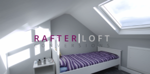 Stunning mini loft conversion for childs bedroom