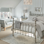 This Dormer loft conversion created a stunning master bedroom and incorperating a sunken bath in the private bathroom with a walk in wardrobe